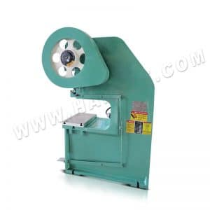 J21S steel hole power press punching machine for sale with high performance, round hole puncher for door