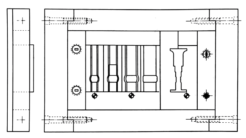 Fig. 1-4 Grinding Assembly Die